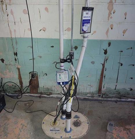 Installing TripleSafe to Waterproof Muskegon, MI Basements