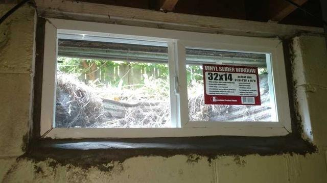 Egress Windows Installed in Dowagiac, MI