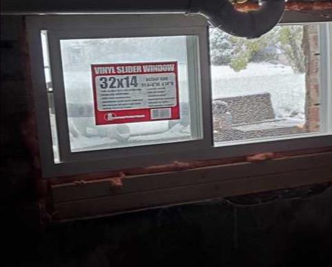 Installing Egress Windows in Elk Rapids, MI