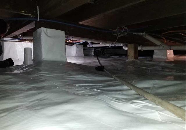 Crawl Space Encapsulation in Grand Junction, MI