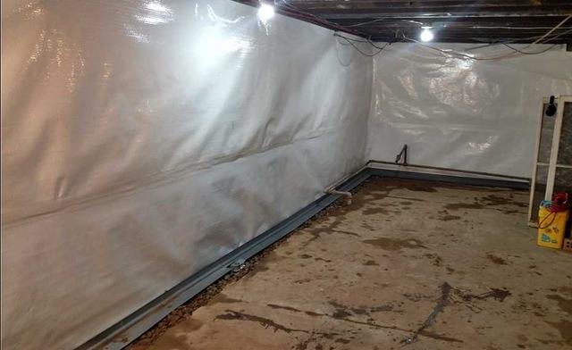Basement Vapor Barriers in Harbert, MI