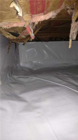 Encapsulating a Potterville Crawl Space