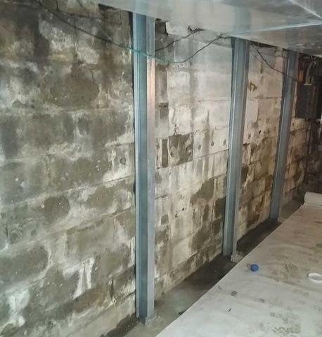 Securing Foundation Walls in Portage, MI