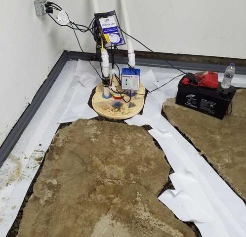 Waterproofing a Basement in Mulliken MI