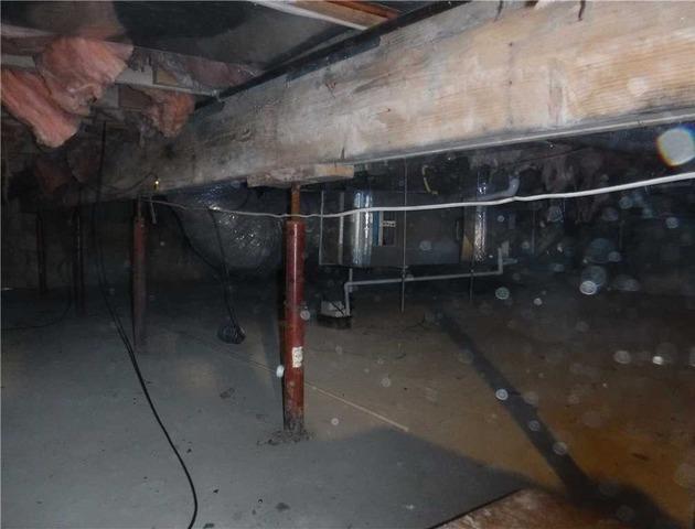 Repairing a Crawl Space in Leslie MI