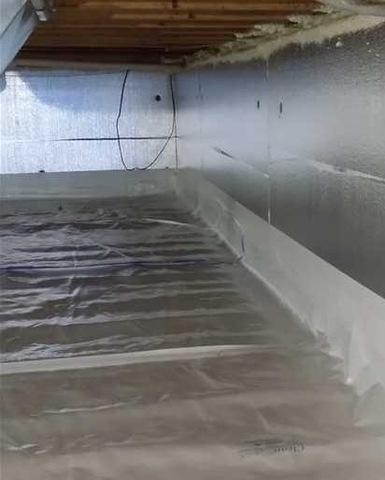 Crawl Space Encapsulation in Muskegon, MI - After Photo