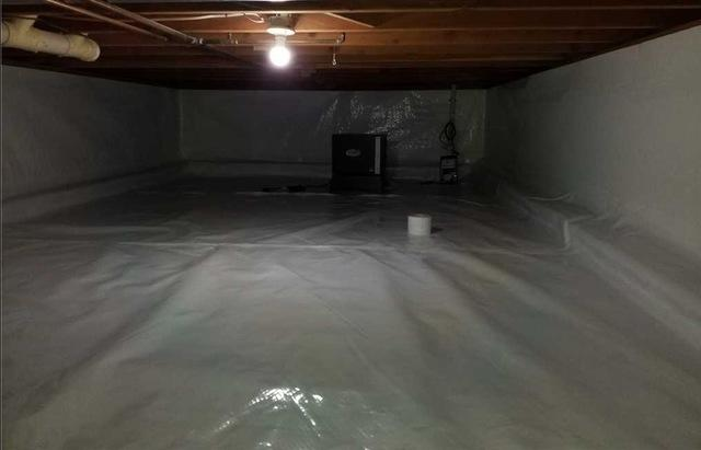 Encapsulating Crawl Spaces in Vicksburg, MI