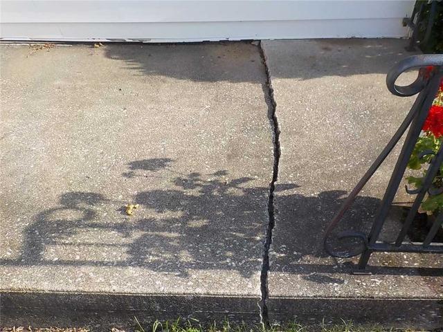 Lifting a Concrete Porch in Kalamazoo, MI
