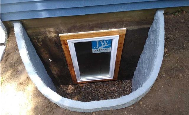 Installing Egress Windows and Wells in Coldwater, MI