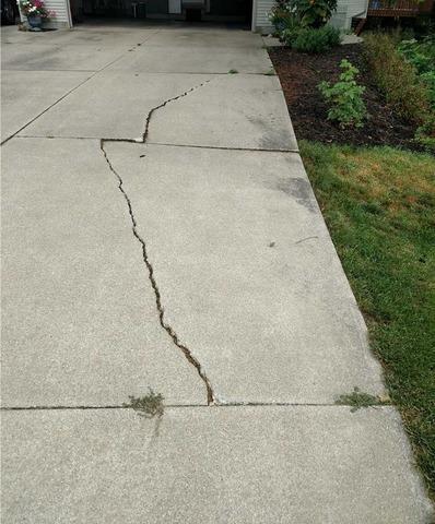 Leveling a Holland, MI Driveway