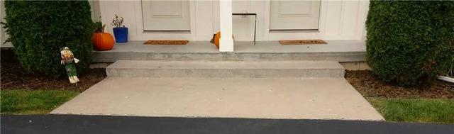Leveling a Front Porch in Allendale, MI