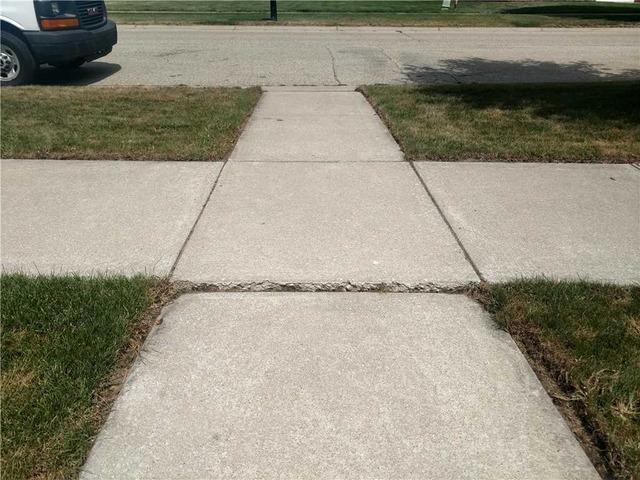 Lifting Sunken Concrete on a Walkway in Allendale MI