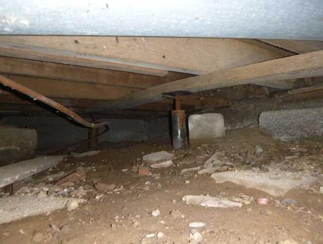 Encapsulated Crawl Space Stops Mildew Growth in Pierson, MI Crawl Space