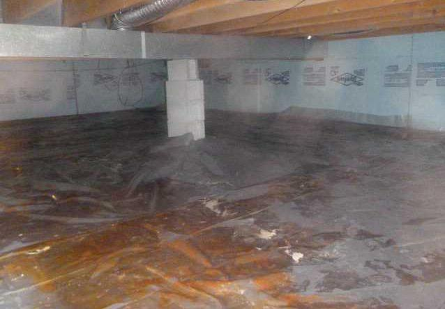 Using Crawl Space Vapor Barriers in Muskegon, MI