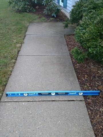 Grandville, MI Walkway Lifted and Leveled