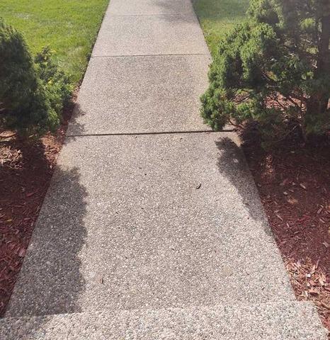 Lifting and Leveling a Grandville MI Sidewalk