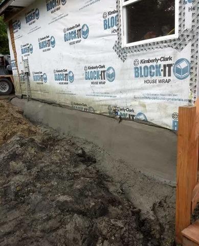 Foundation Stabilization in Delton, MI Home