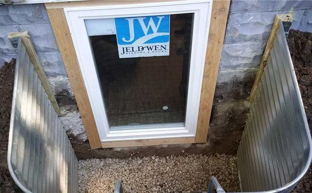 Egress Window Brightens Grand Rapids, MI Basement