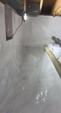 Keeping a Flint, MI Crawl Space Warm