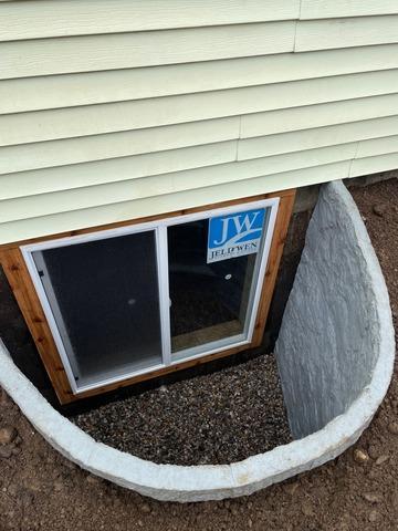 Installing an Egress Window in Sturgis MI