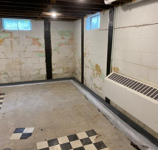 Waterproofing a Holt MI Basement with Crack Repair