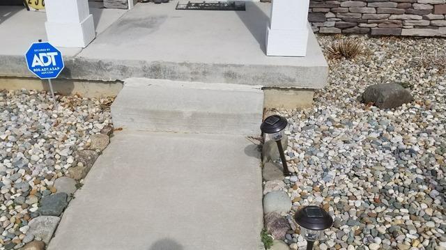 Lifting Concrete Around a Battle Creek Home