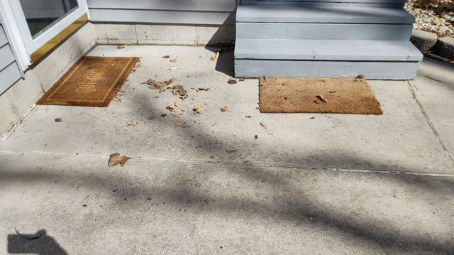 Taking Away Trip Hazards from this Howard City Driveway