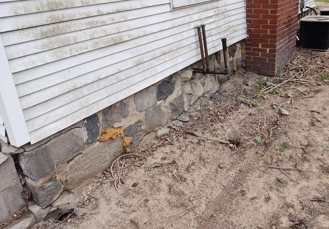 Stabilizing a Settling 150 Year Old Home