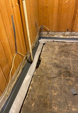 Keeping Water Out of this Finished Basement