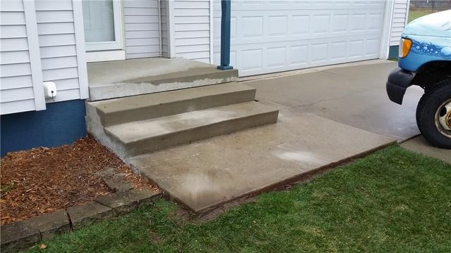 PolyLevel Helps Levels Out Charlotte, MI Steps