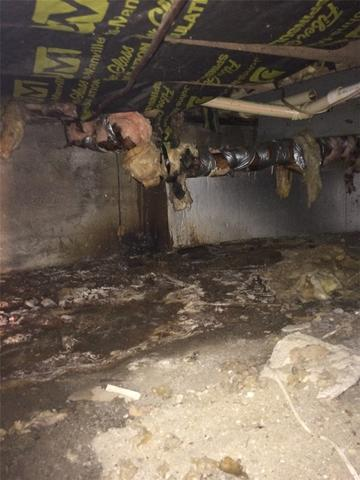 Energy Saving Changes Rid Westphalia, MI Crawl Space of Bad Smell