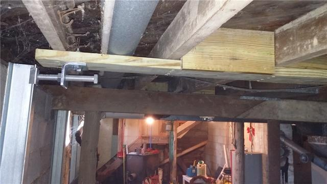 PowerBrace Overcomes a Severly Bowed Wall in Coopersville, MI