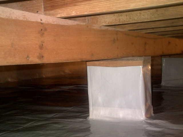 Bangor, MI Crawlspace Protected from Outside Elements with CleanSpace Encapsulation
