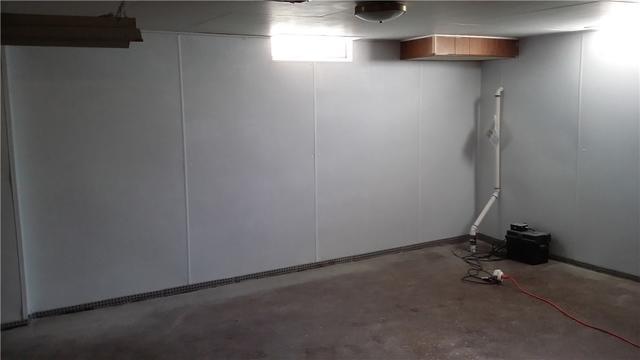 BrightWall Panels Help Waterproof a Basement in Lansing, MI