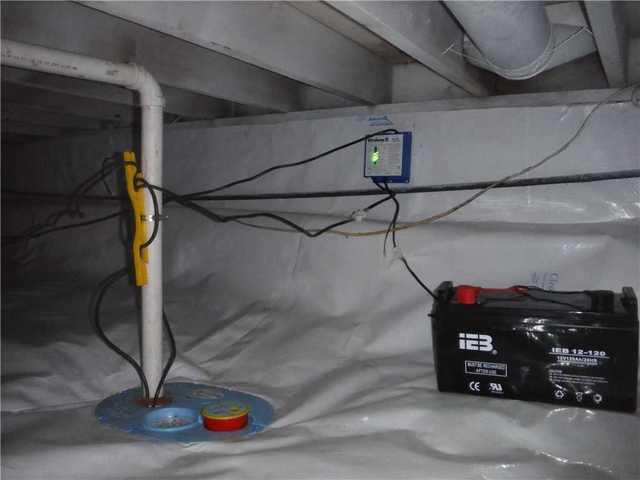 SmartSump and Battery Backup Installed in Martin, MI