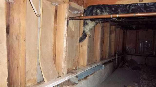 Home in Cedar, Mich Improves Their Crawlspace