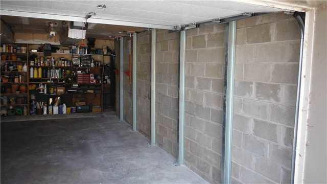 Battle Creek garage fixes unstable walls with PowerBrace Assembly.