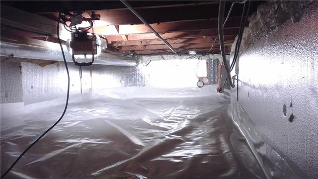 Ultimate Energy Saver Cleans Up a Crawl Space in Newaygo, MI