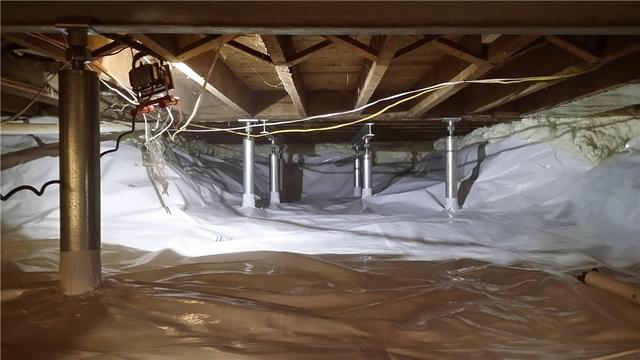 Repairing a 100-Year-Old Crawl Space in Webberville, MI