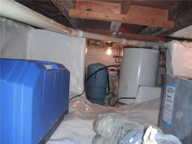 CleanSpace and Dehumidifier Protects Hale, MI Crawlspace