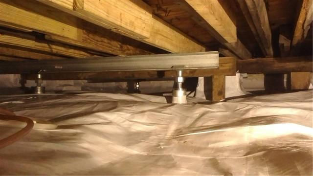 CleanSpace Solves Temperature Problems for Wayland, MI Crawl Space
