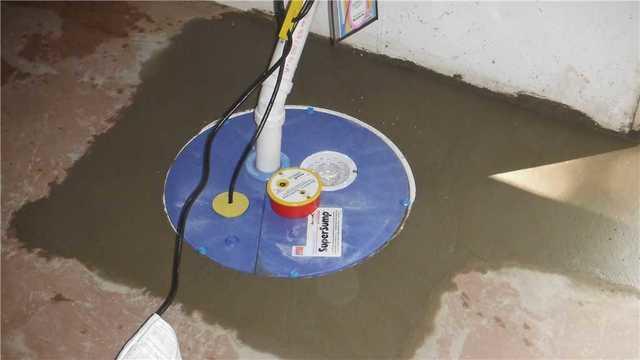 SuperSump Pump Installed in Haslett, MI
