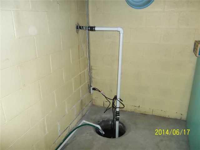 Williamston basement upgrades to the SuperSump sump pump