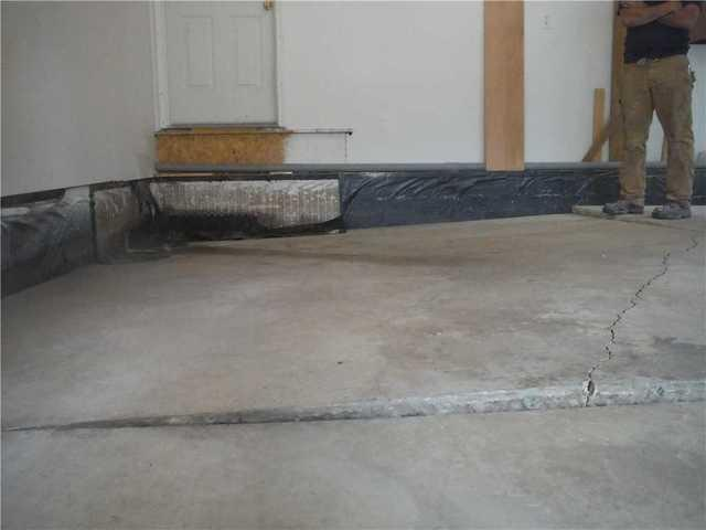 PolyLEVEL Restores Pleasant Lake, MI Garage Floor