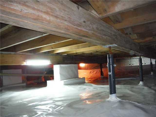 Mold and Mice Eliminated from East Jordan, MI Crawl Space