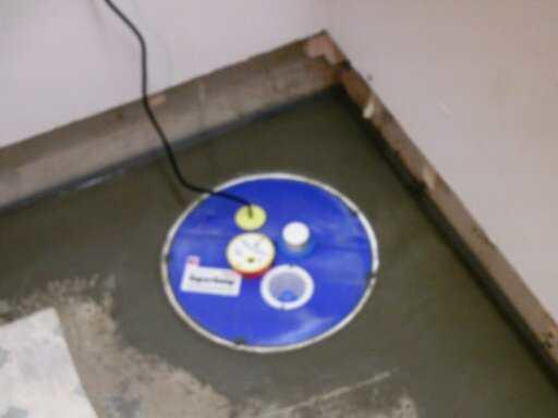 Springport Home installs SuperSump to get their basement completely dry!