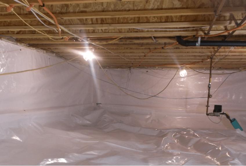Breckenridge Crawl Space - Mold Remediation/Crawl Space Encapsulation - After Photo