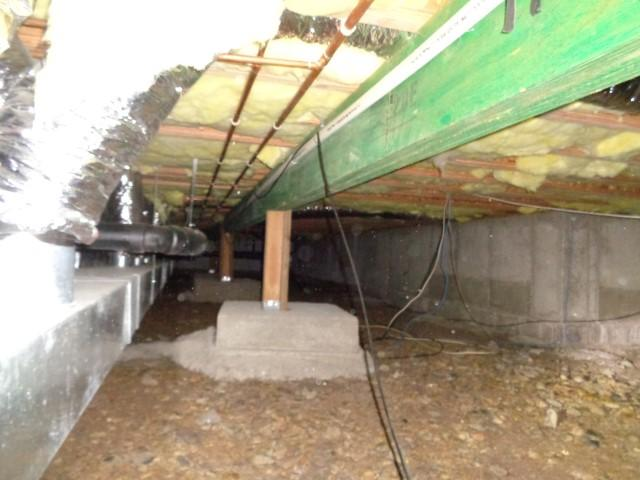 Crawlspace Moisture & Mold Fix in New Castle, CO