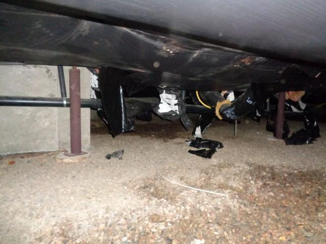 Crawlspace Moisture Barrier Installation in Hayden, CO