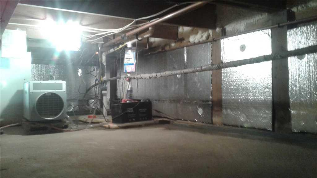 Warming a Home in Sturgeon Bay, WI through a Crawlspace - After Photo
